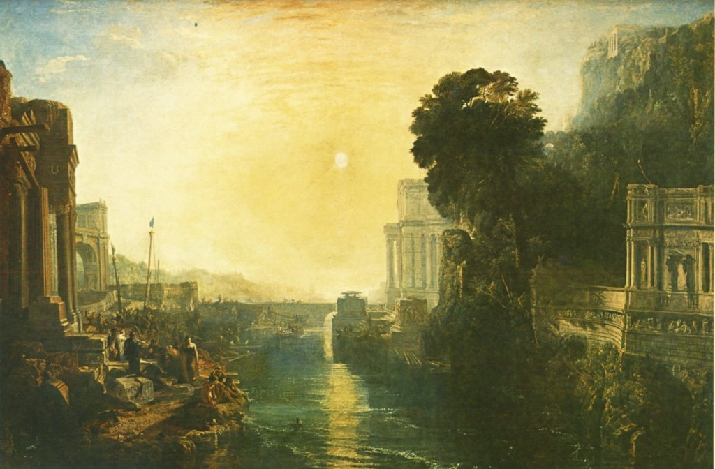 William Turner 1815 Didon Construisant Carthage, ou la naissance de l'Empire Carthaginois